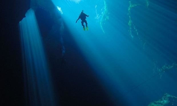 into-the-deep-diving